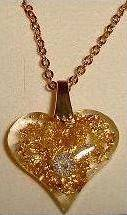 Pendentif pierre véritable diamant