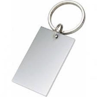 Gravure porte-clés rectangle Ref 189 C