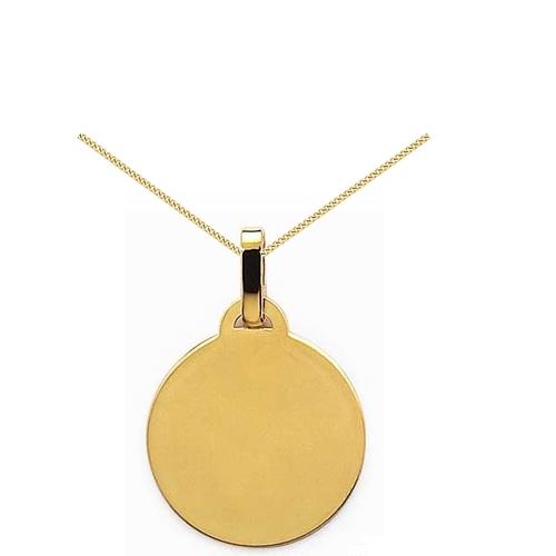 Gravure médaille plaqué or- PO 430