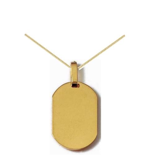 Gravure médaille plaqué or- PO 530