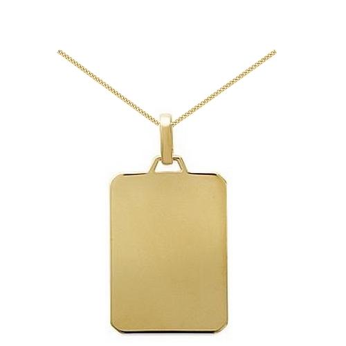 Gravure médaille plaqué or- PO 120