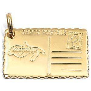 Gravure médaille plaqué or 830 G