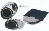 GRAVURE MIROIR METAL CHROME MAT  REF 42420