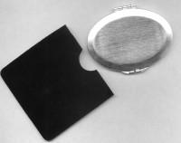 GRAVURE MIROIR OVAL METAL CHROME MAT  REF 42421/11
