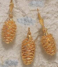 Bijoux naturels Pendenti  PIN Boucles d'oreilles PIN
